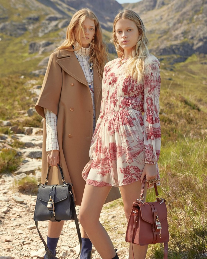 Chloe sets fall-winter 2019 in Scottish countryside