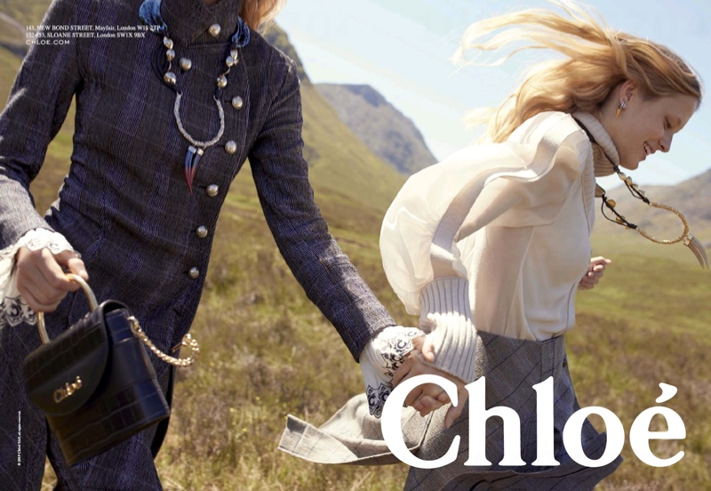 An image from the Chloe fall 2019 advertising campaign