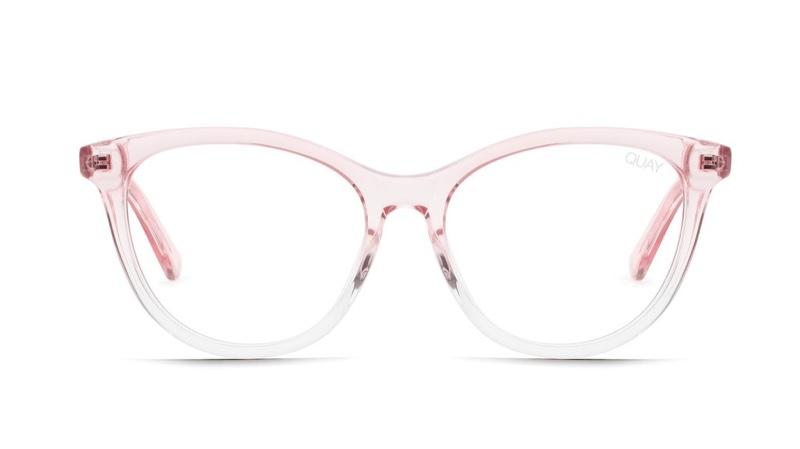 Chrissy Teigen x Quay Australia All Nighter Glasses in Pink $55