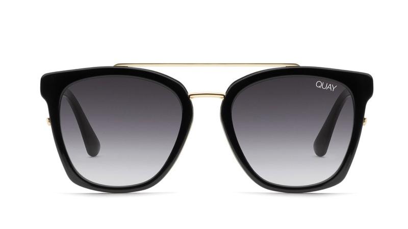 Chrissy Teigen x Quay Australia Sweet Dreams Sunglasses in Black $55