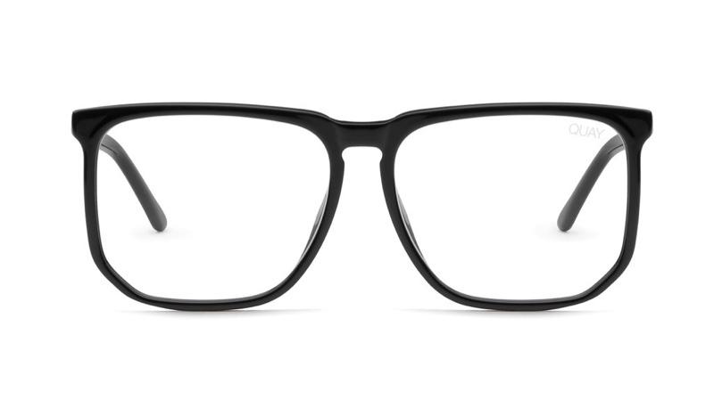 Chrissy Teigen x Quay Stranger Glasses in Black $55