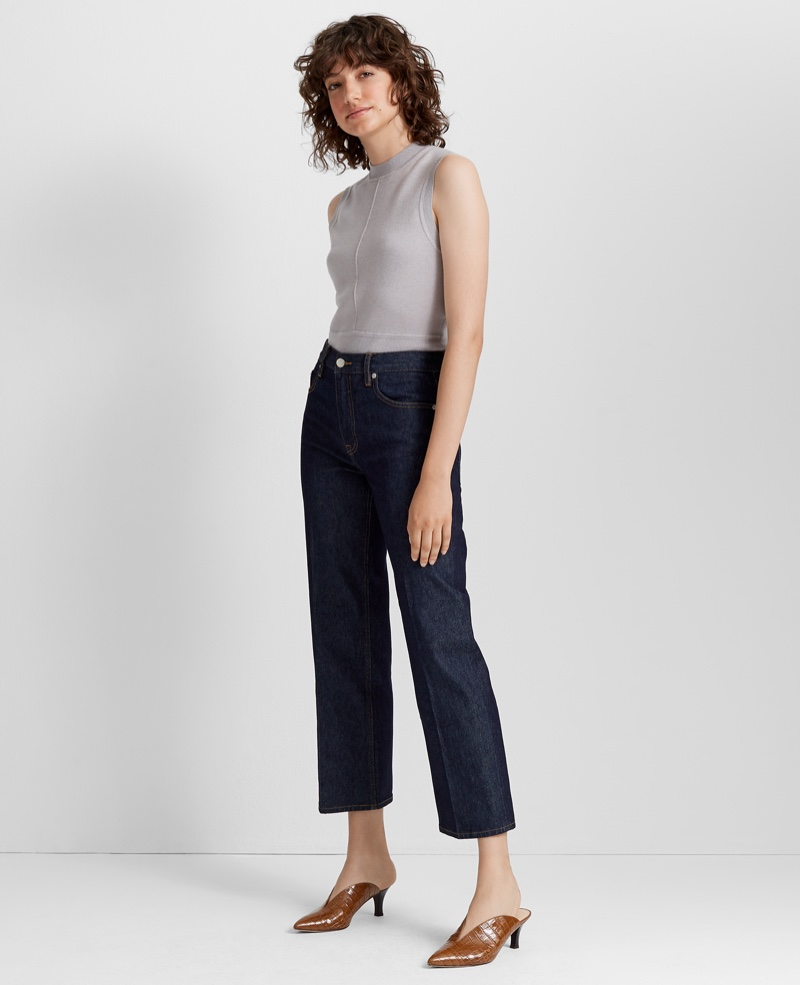 Club Monaco The Structured Bootcut Jean $129.50