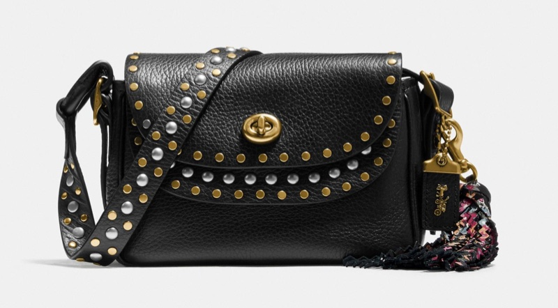 Coach x Tabitha Simmons Crossbody 17 with Rivets $395