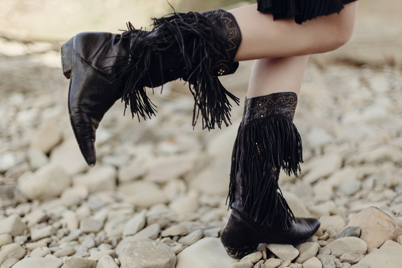 Cowgirl Boots Fringe