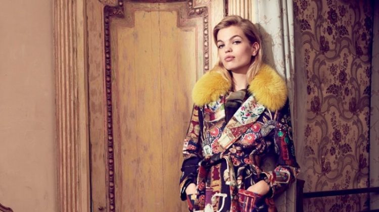 Daphne Groeneveld Embraces Autumn Style in Bergdorf Goodman