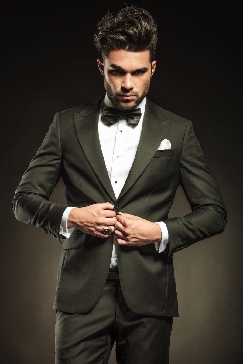 Dapper Man in Tuxedo