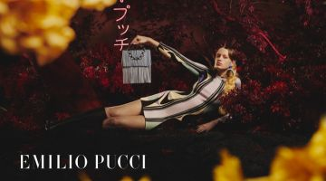 Kat Carter Takes the Spotlight in Emilio Pucci Fall 2019 Campaign