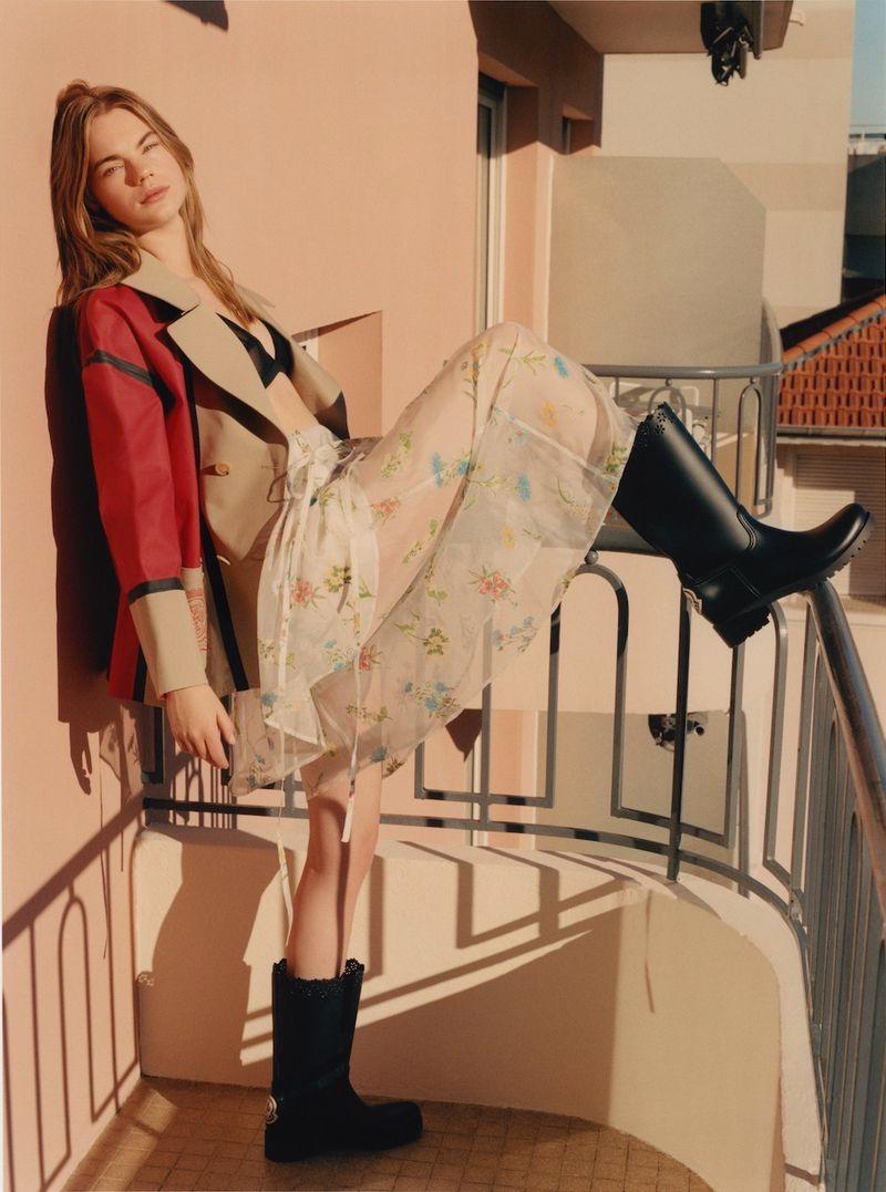 Estella Boersma Poses in Vacation Looks for Lula Magazine