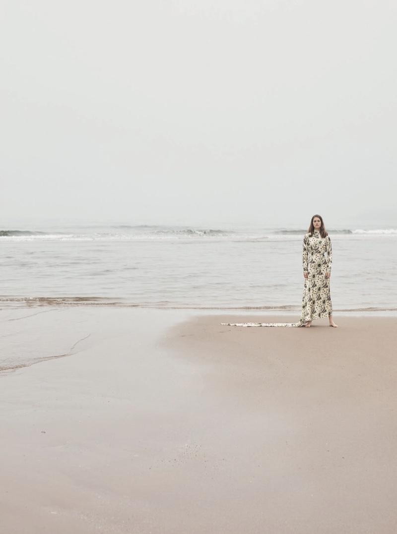 Femke Huijzer Harper S Bazaar Uk Beach Fashion Editorial