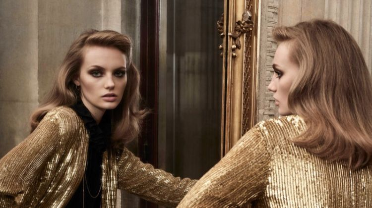 Fran Summers Captivates in Celine Designs for Vogue Paris
