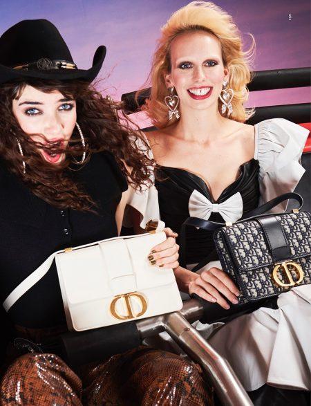 Grace Hartzel & Lili Sumner Go On A Stylish Ride for Dazed