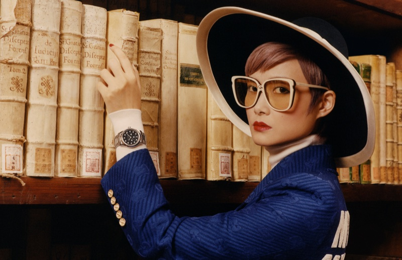 Chris Lee stars in Gucci Timepieces + Jewelry fall-winter 2019 campaign