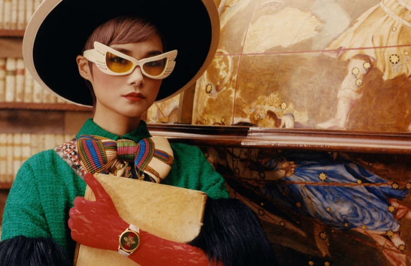 Gucci unveils Timepieces + Jewelry fall-winter 2019 campaign