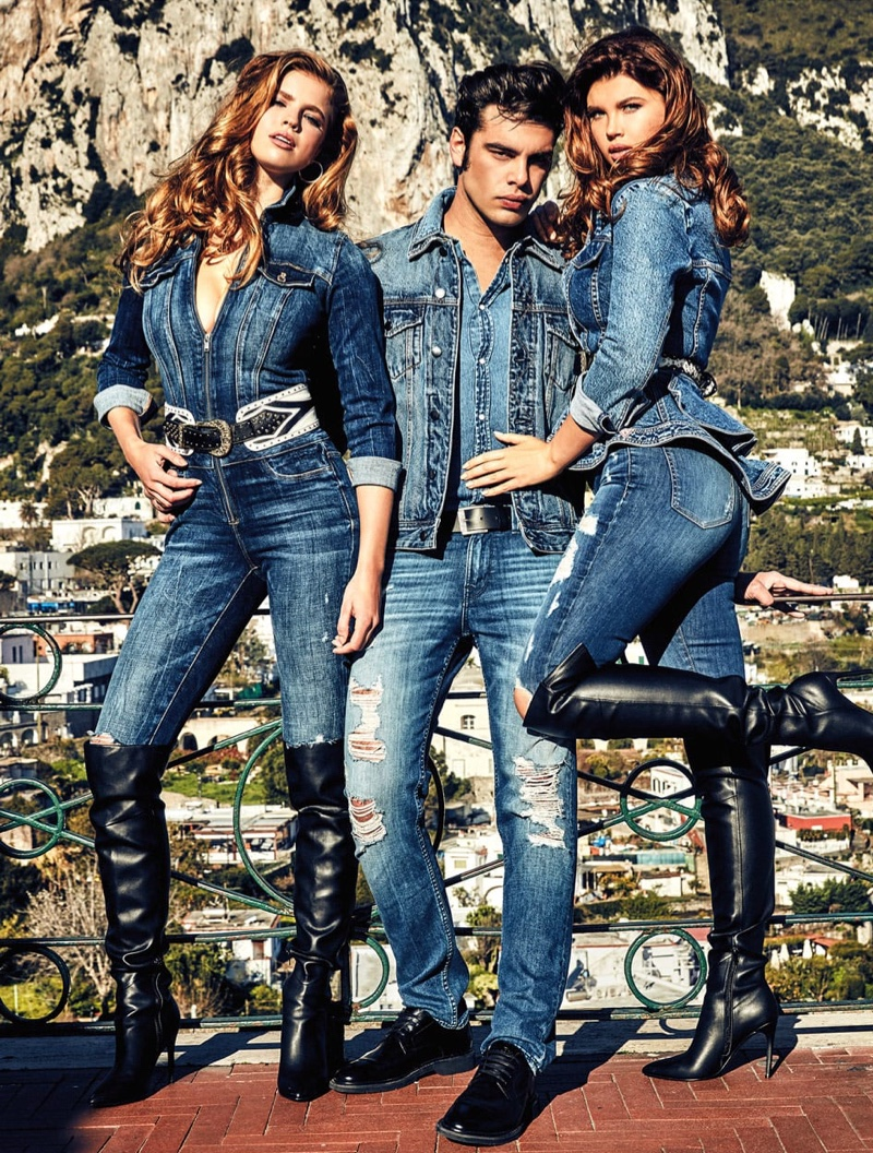 Guess unveils fall-winter Denim 2019 campaign