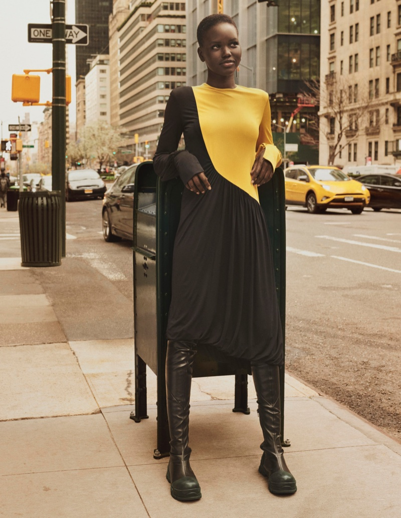 Color-blocked looks stand out in H&M Studio fall-winter 2019 campaign