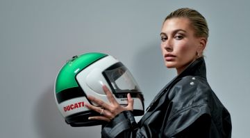 Hailey Baldwin Wears Cool Girl Styles for Interview Magazine