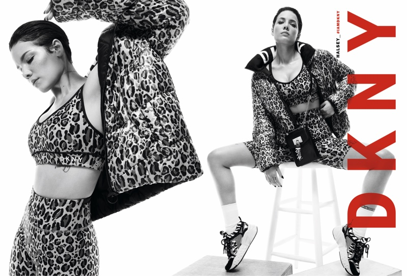 Halsey stars in DKNY fall-winter 2019 campaign