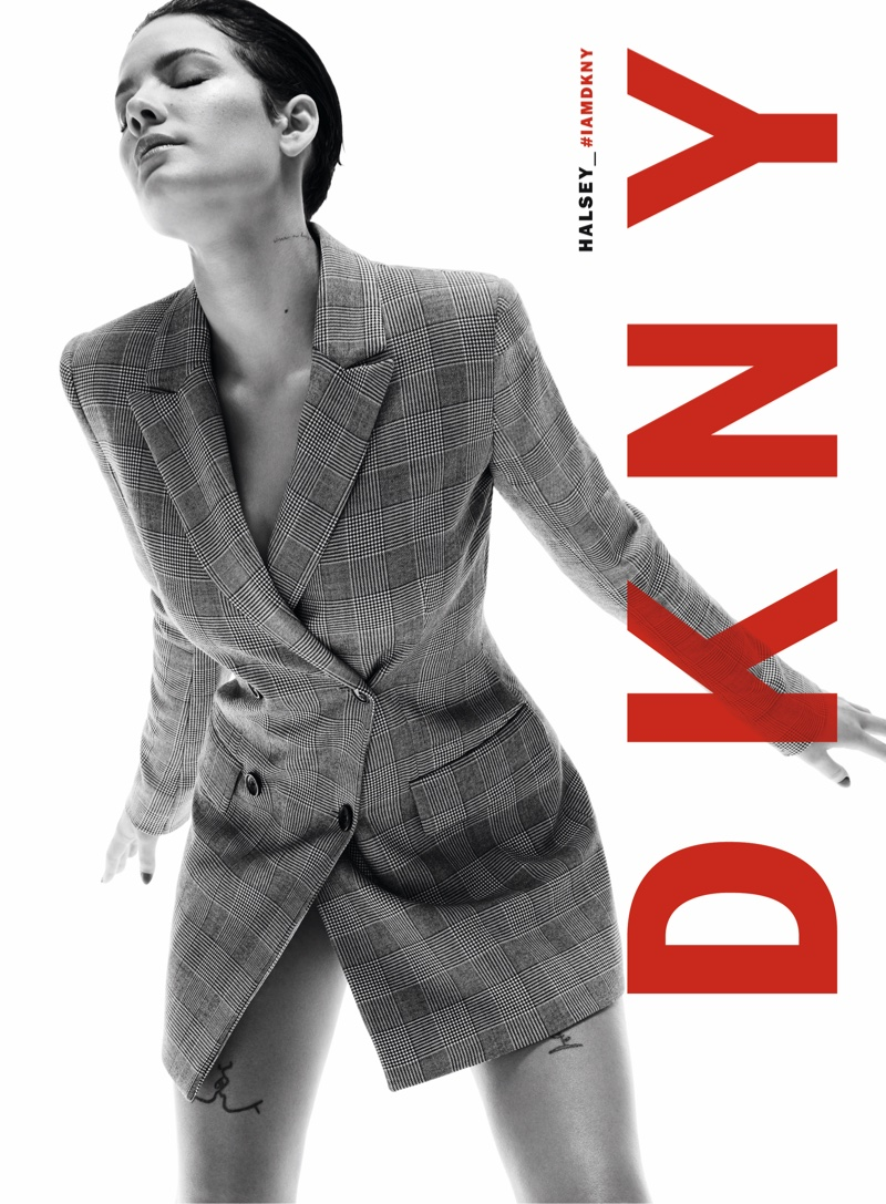 DKNY taps Halsey for fall-winter 2019 campaign