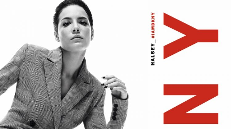 Halsey Strikes a Pose for DKNY Fall 2019 Campaign