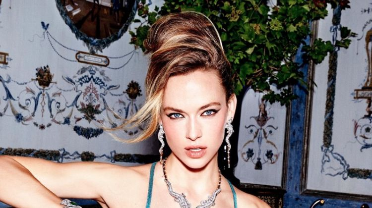 Hannah Ferguson Heats Up Orlov Jewelry Campaign