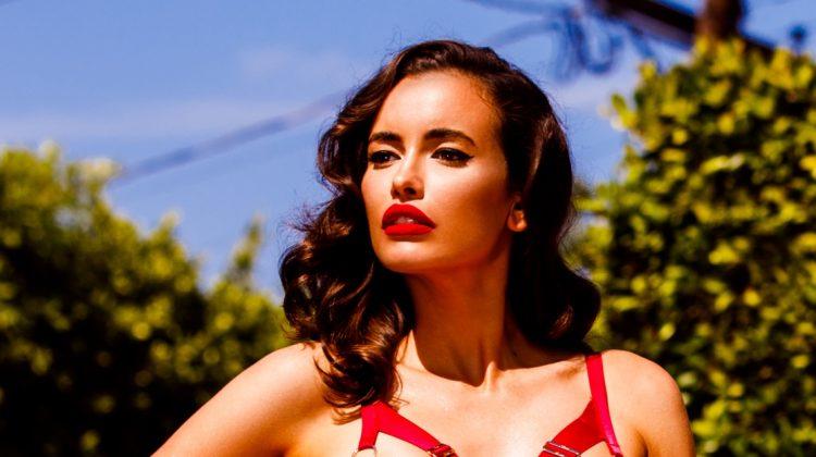 Sarah Stephens Brings the Heat in Honey Birdette 'Bodyguard' Campaign