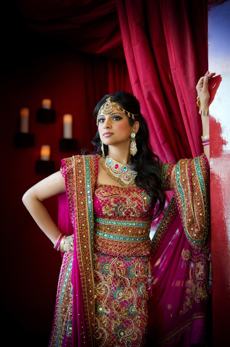 Indian Bride Traditional Dress