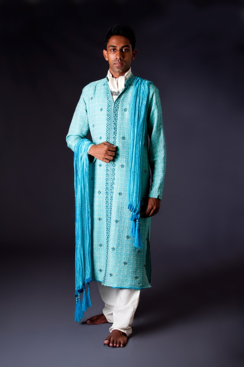 Indian Groom Traditional Hindu Outfit