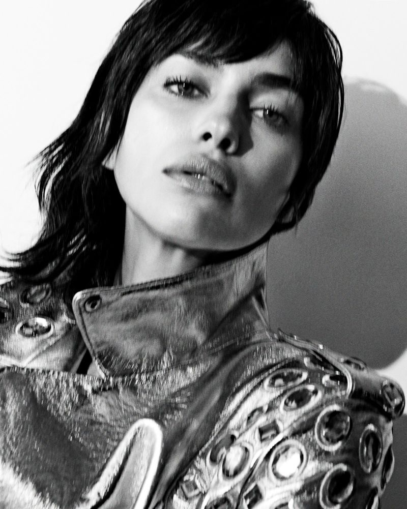 Irina Shayk Poses in Statement Fashion for Vogue Portugal