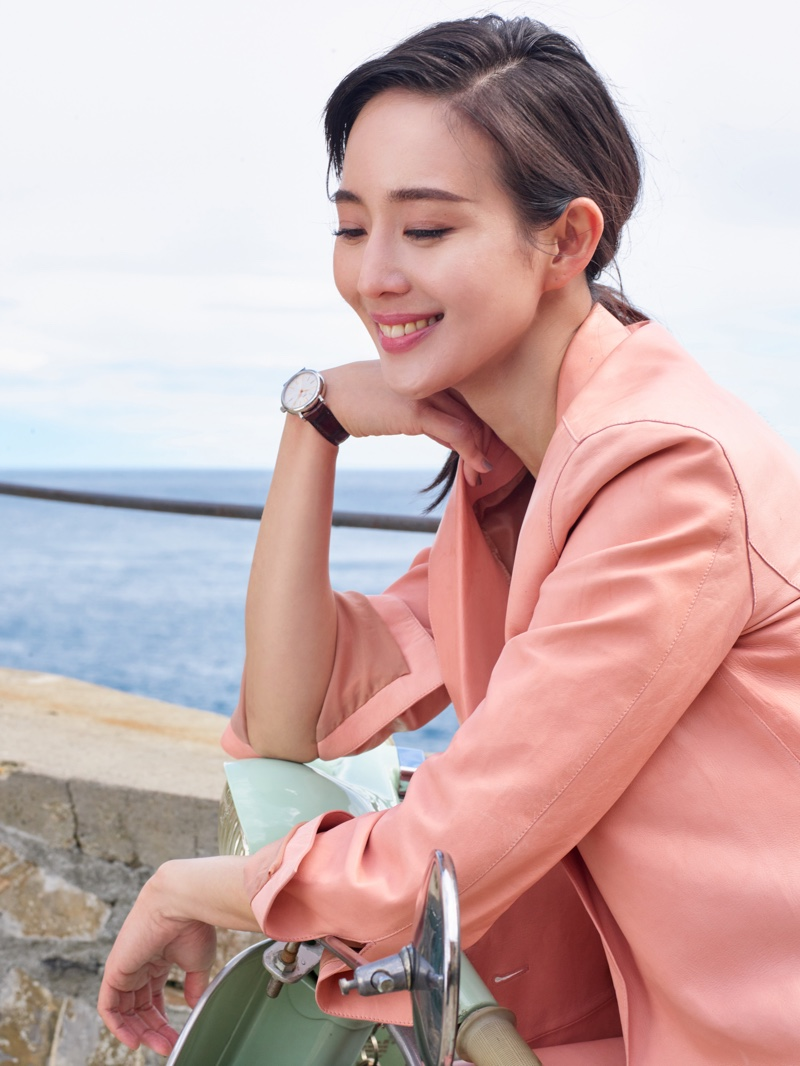 Janine Chang fronts IWC Portofino Watch campaign
