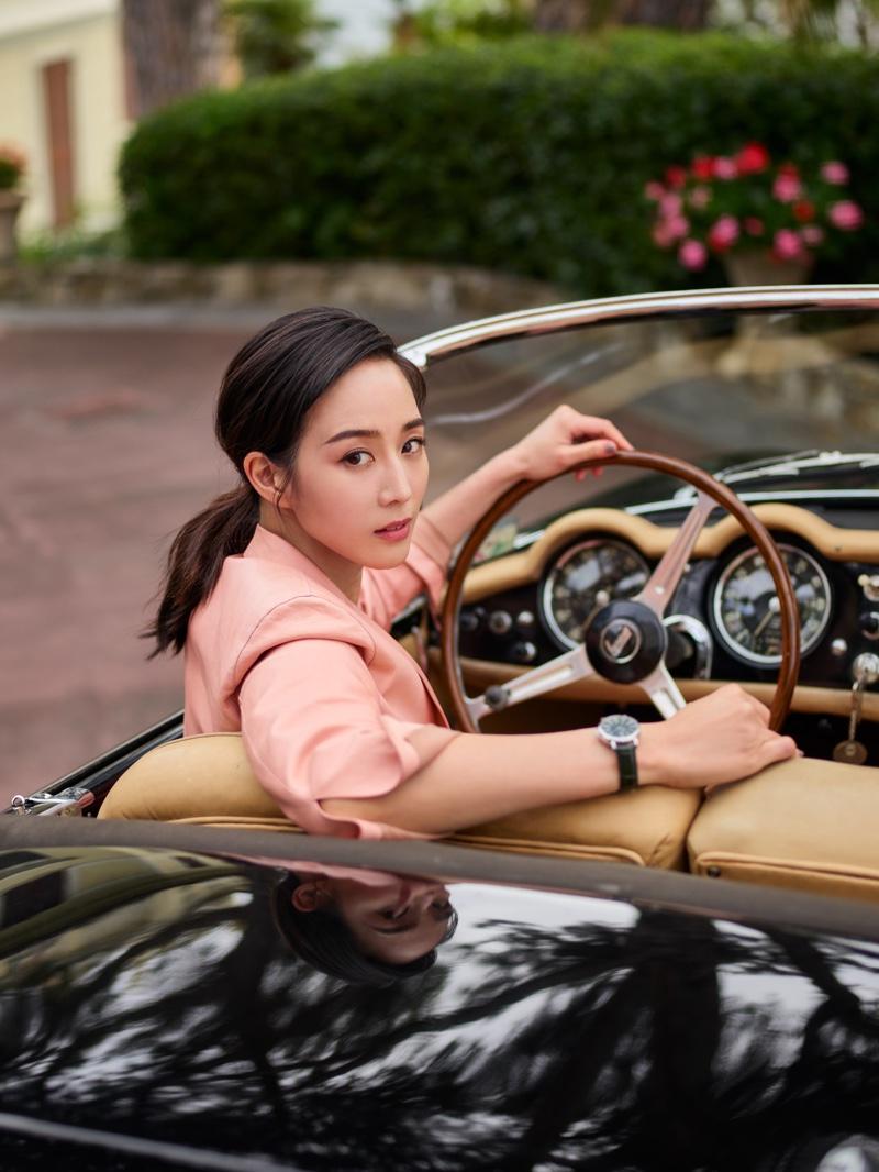 Actress Janine Chang stars in IWC Portofino Watch campaign