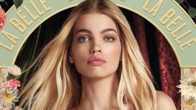 Daphne Groeneveld Blooms in Jean Paul Gaultier 'Belle' Fragrance Ads