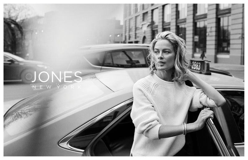 Carolyn Murphy stars in Jones New York fall-winter 2019 campaign