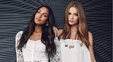Josephine Skriver & Jasmine Tookes Link Up for Hamptons Magazine