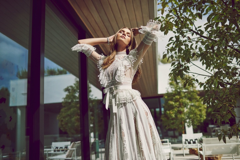 Josephine Skriver & Jasmine Tookes Link Up for Hamptons Magazine