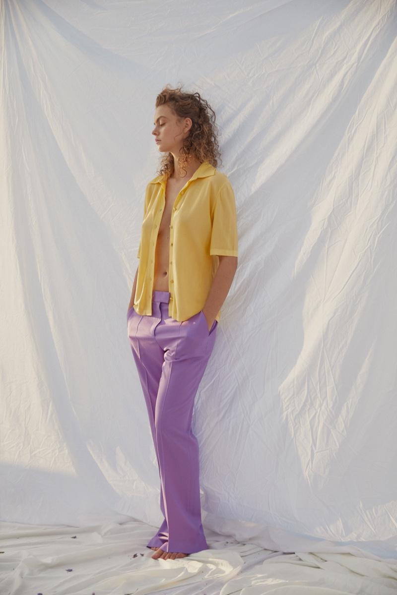 Julia Klaassen Wears Pretty Pastels for Marie Claire Turkey