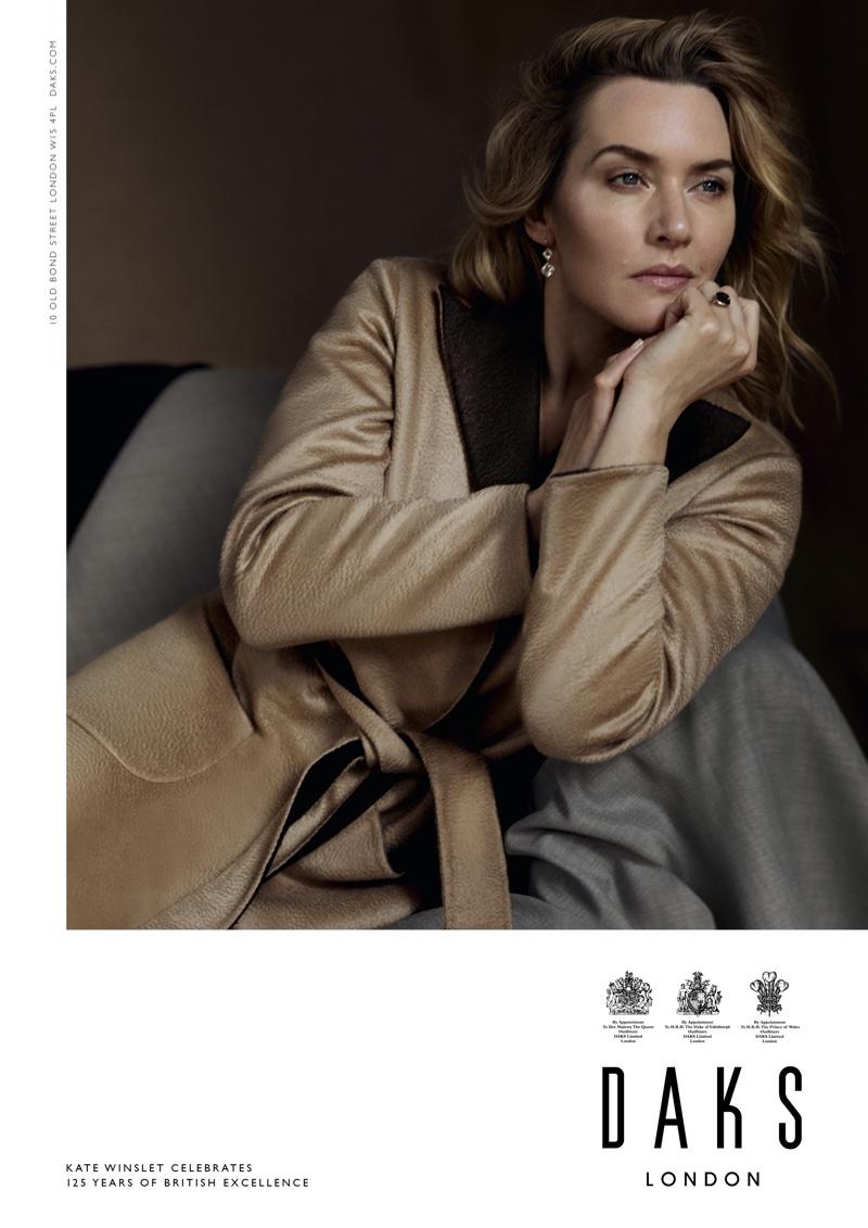 Kate Winslet stars in Daks fall-winter 2019 campaign
