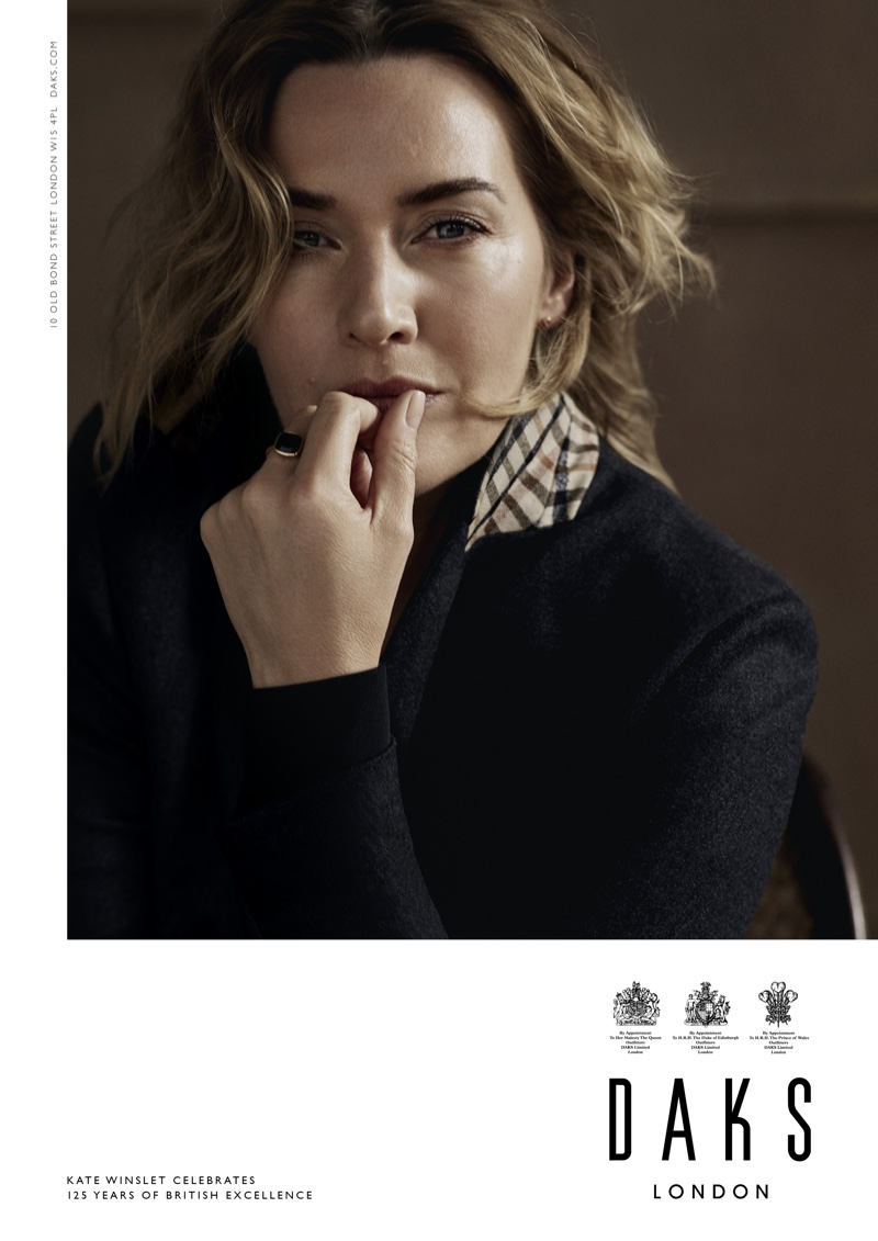 Daks London taps Kate Winslet for its fall-winter 2019 campaign