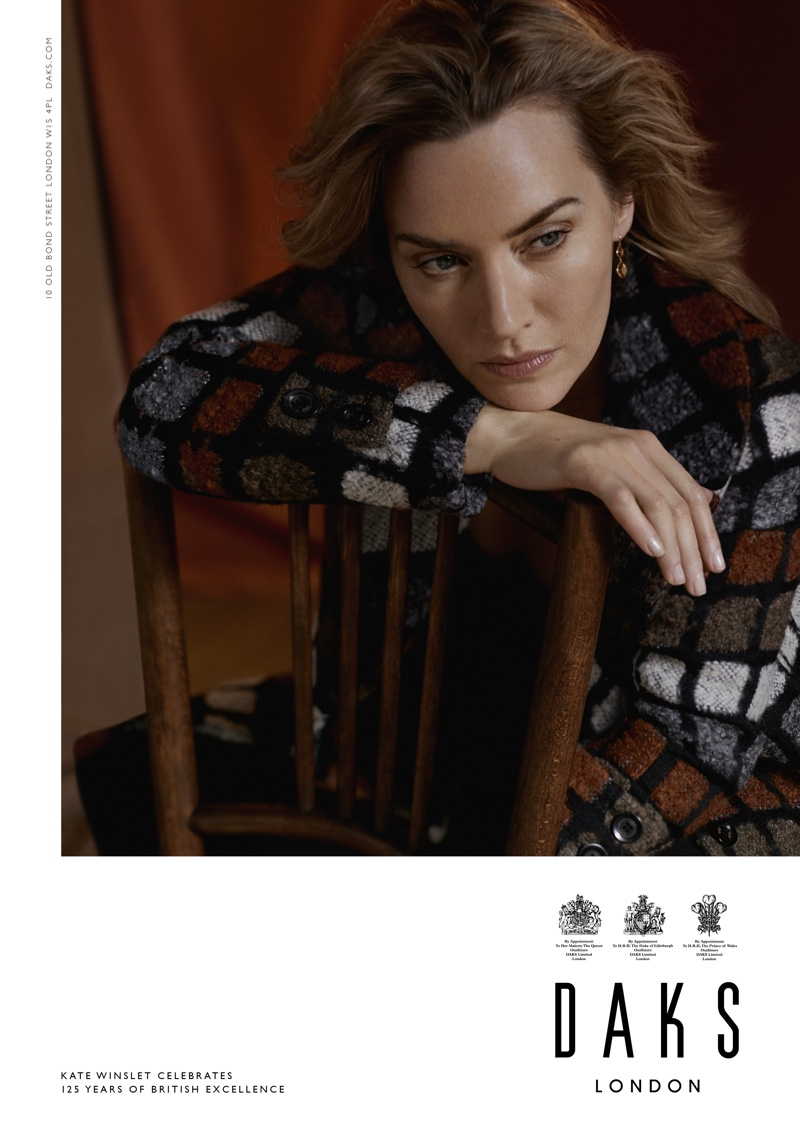 Kate Winslet Looks Elegant in Daks Fall 2019 Campaign
