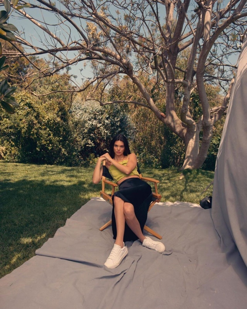 Keeping it casual, Kendall Jenner fronts Kendall + Kylie summer 2019 campaign