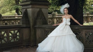 Kinga Trojan Poses in Bridal Fashion for L'Officiel Thailand