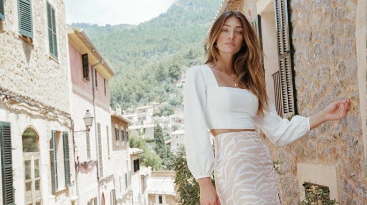 Lorena Rae stars in Kookai Bonita spring-summer 2019 campaign