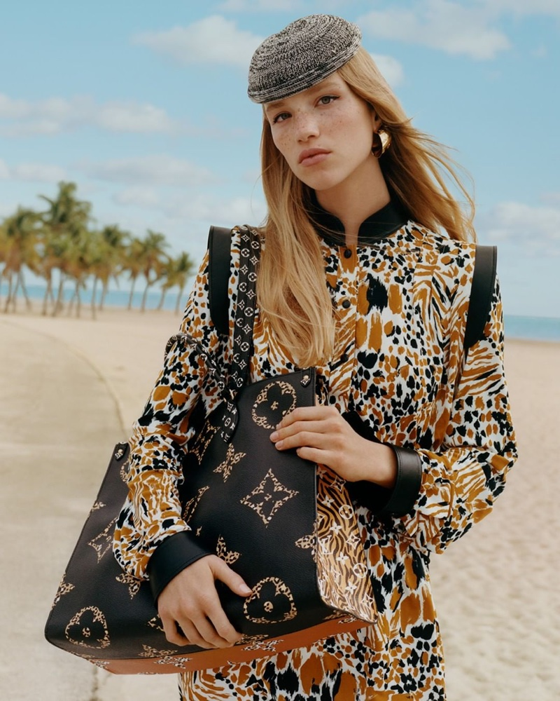 Louis Vuitton Onthego tote bag from Monogram Jungle collection
