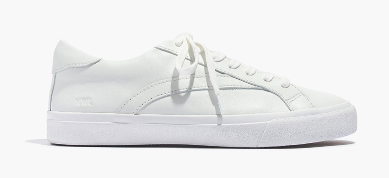 Madewell Sidewalk Low-Top Sneakers in Pale Parchment $88