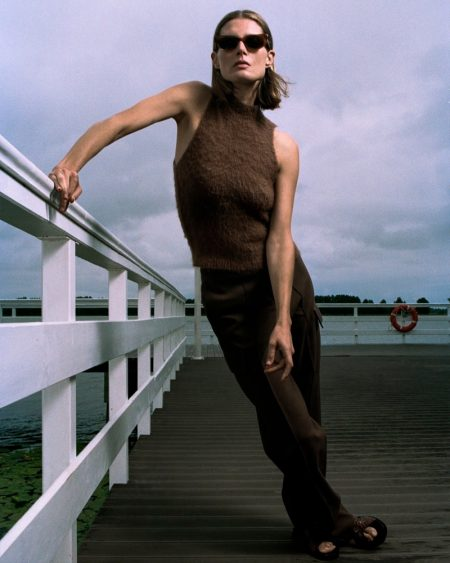 Malgosia Bela Models 90's Fashions for PORTER Edit