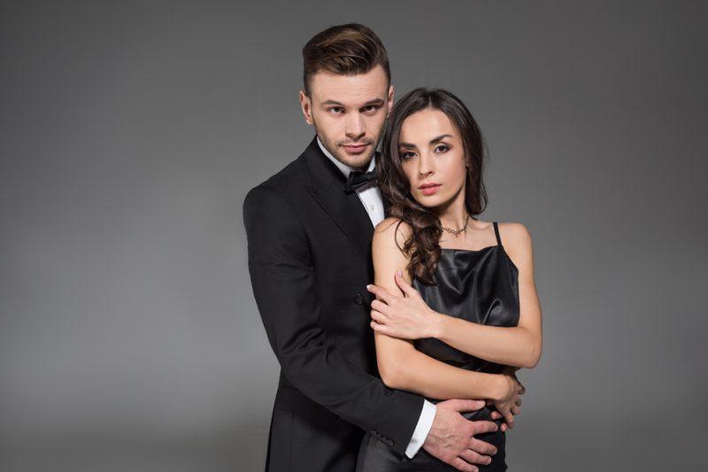 Man in Tuxedo Formal Couple