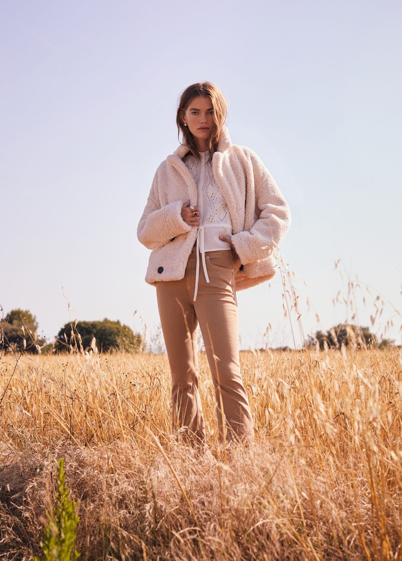 Mango spotlights 1970's inspired styles for fall 2019