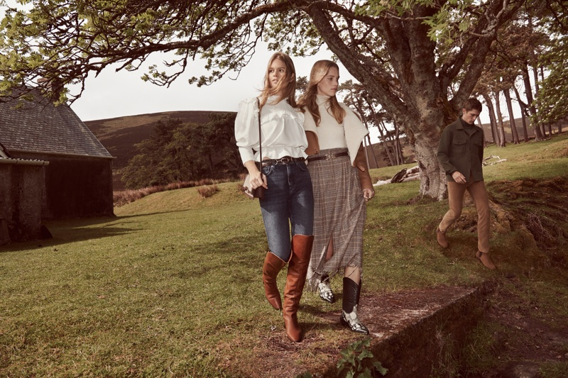 An image from Mango's fall 2019 advertising campaign