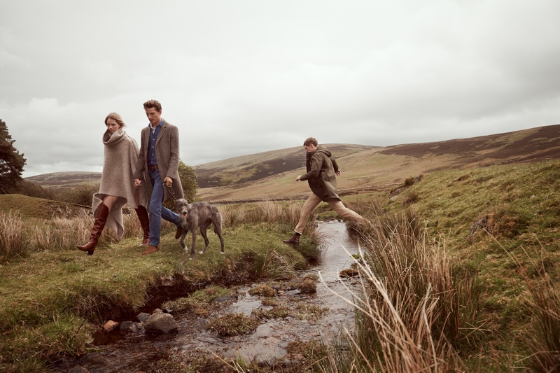 Mango sets its fall-winter 2019 campaign in Scottish highlands