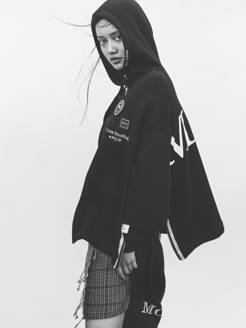 Annie Sun stars in Marc O'Polo fall-winter 2019 campaign