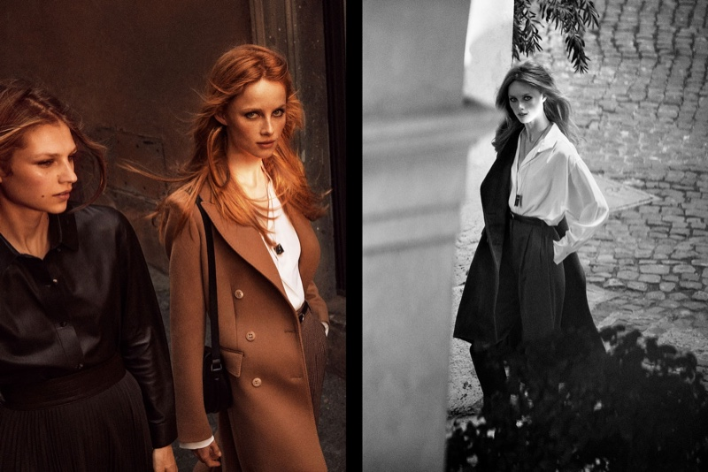 An image from Massimo Dutti's fall 2019 advertising campaign